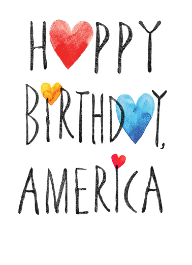 Funny Birthday Card Happy Birthday America From Cardfool