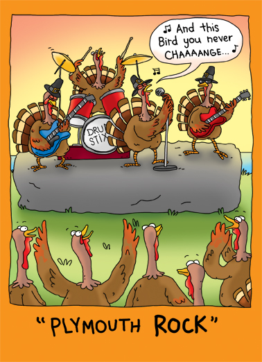 Funny thanksgiving ecard plymouth rock from cardfool m4hsunfo