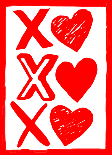 """funny valentine's day card - """"sending you hugs and kisses"""" from, Ideas"""
