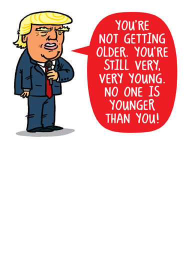 Funny Birthday Card Youre Not Old From Cardfool